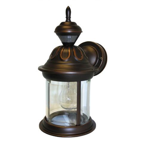 Heath-Zenith Bridgeport 1-Light Outdoor Wall Lantern