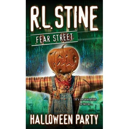 Fear Street: Halloween Party (Paperback)