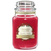 Yankee Candle Large Returning Classic Red Berry & Cedar Classic Jar Candle- 22 oz Jar