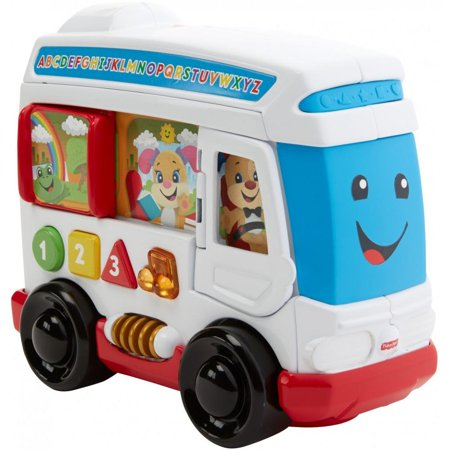 Fisher-Price Laugh and Learn Learn Around Town Bus