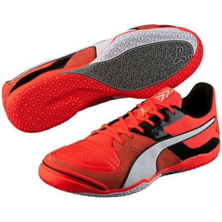 a5e10e80b PUMA Men s Invicto Sala Indoor Soccer Shoes (Red Black