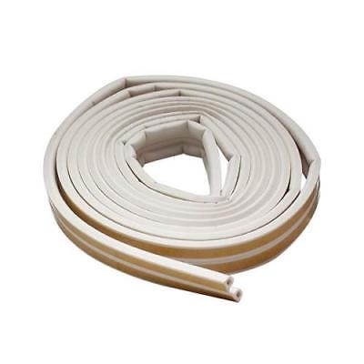 All - Climate EPDM Rubber Weatherstrip P - Profile, White, 2Pack