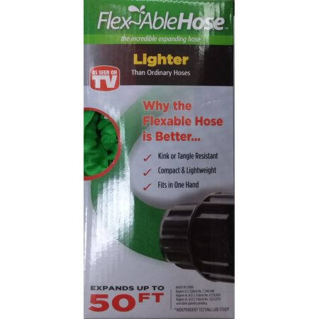 As Seen On Tv Pocket Hose Silver Bullet 50 Ft