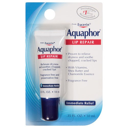 Aquaphor Lip Repair .35 Fluid Ounce  (Pack of 3)