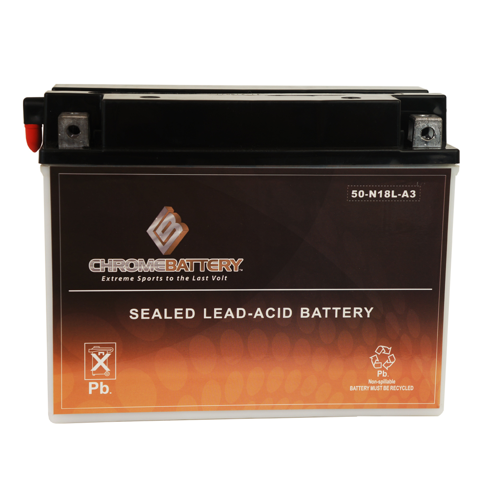Y50-N18L-A3 Snowmobile Battery for Polaris 750cc Wide Track 1991