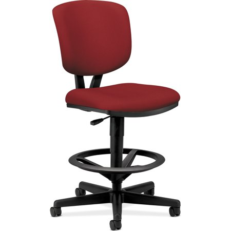 HON, HON5705GA42T, Volt Adjustable Height Stool, 1 Each, Crimson Red