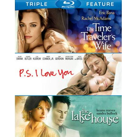 Time Travelers Wife / PS I Love You / Lake House (Blu-ray) (Indie I Love You Halloween)