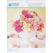 Martha Stewart M4420009 Vintage Girl Tissue Paper Flower Bouquet Kit Makes 24 -
