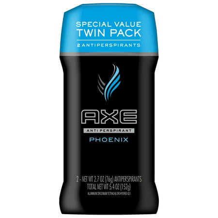 AXE Antiperspirant Deodorant Stick for Men Phoenix 2.7 oz, Twin (Best Axe Deodorants)