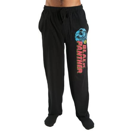 Marvel Men's Black Panther Cotton Jersey Pajama Pant