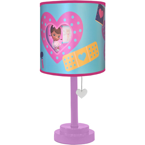 Disney Doc Mcstuffins Table Lamp with Diecut Double Shade