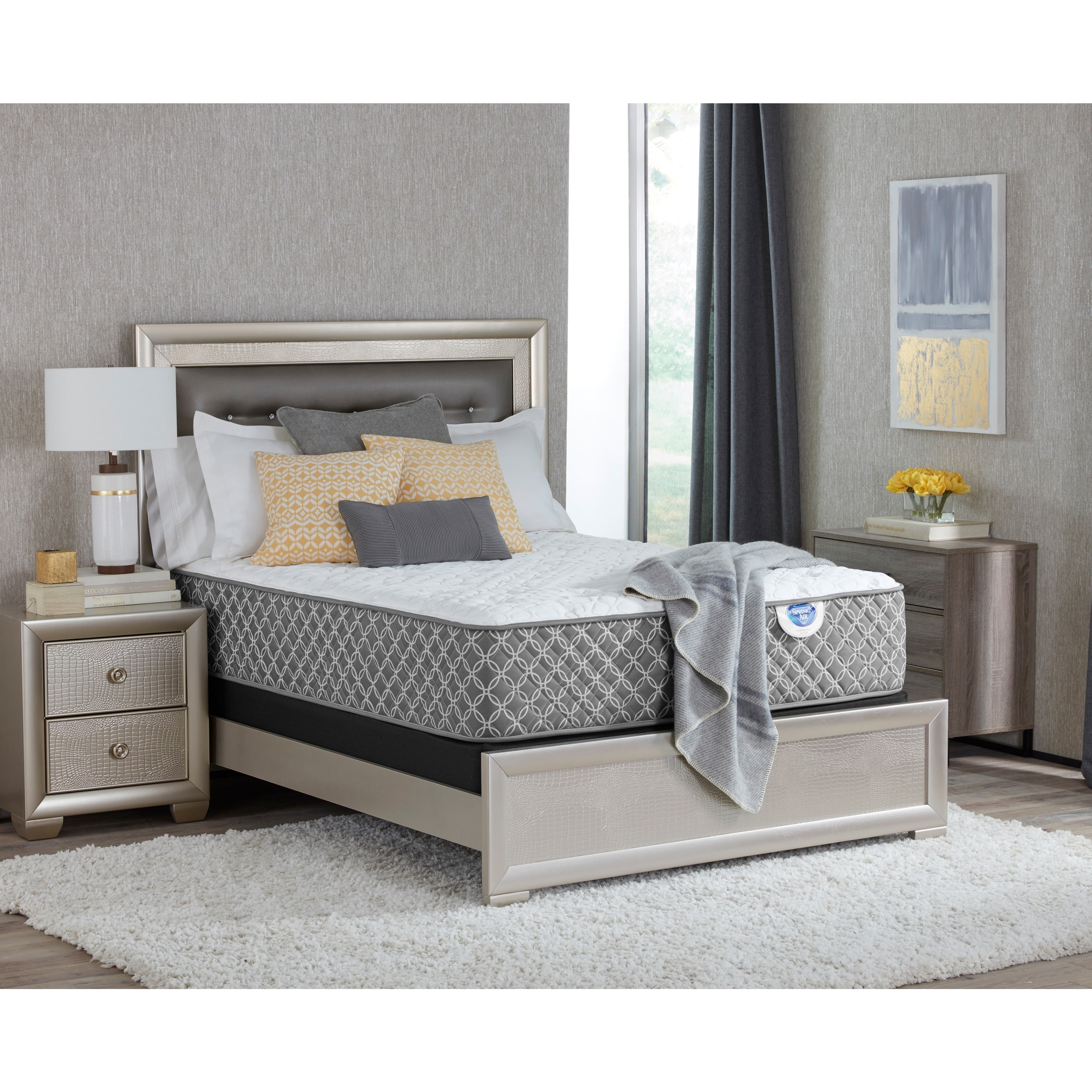 Spring Air  Gracie Plush California King-size Mattress