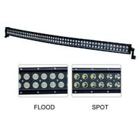 "Nilight 54"" 312W Curved LED Work Light Spot Flood Combo Led Light Bar Driving Light Fog Lamp off road led lights ,2 Years Warranty"