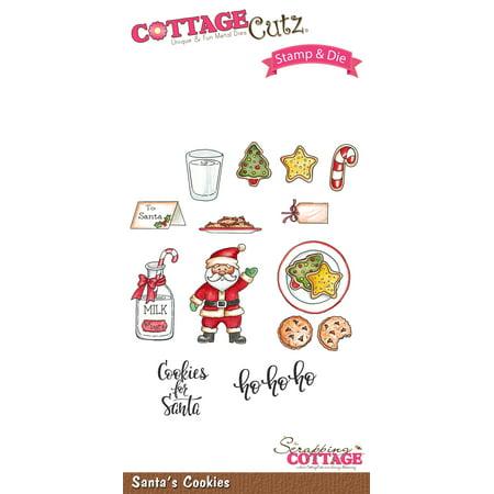 Cottagecutz Stamp & Die Set-Santa's Cookies | Walmart Canada