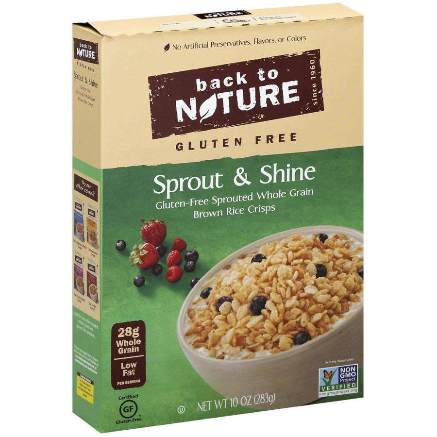 Back To Nature Gluten Free Sprout & Shine Cereal, 10 oz, (Pack of 6)