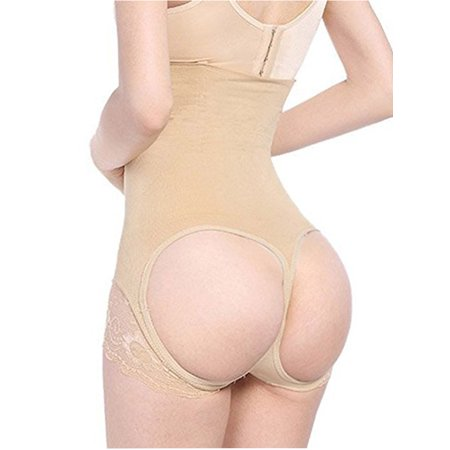 Body Shaping Girdle - LELINTA Women's Butt Lift Booster Booty Lifter Control Panty Shapewear Sexy Enhancer Booster Body Shaping
