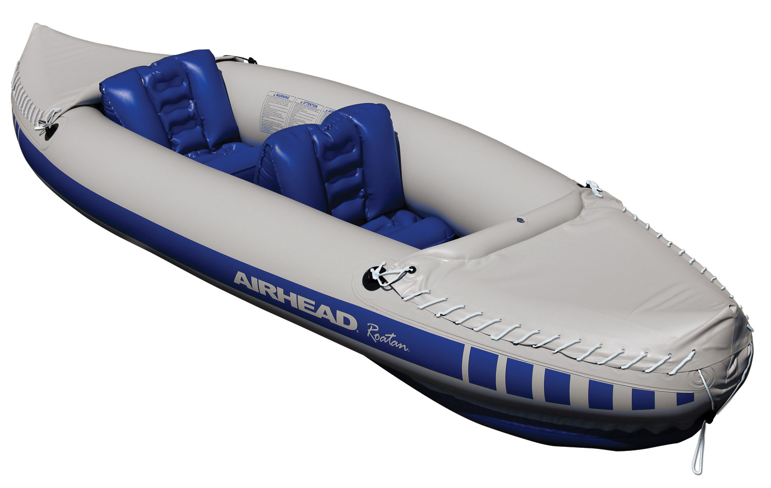 Airhead Roatan Double Rider River Lake Water Lightweight Travel Kayak | AHTK-5 by AIRHEAD SPORTS GROUP
