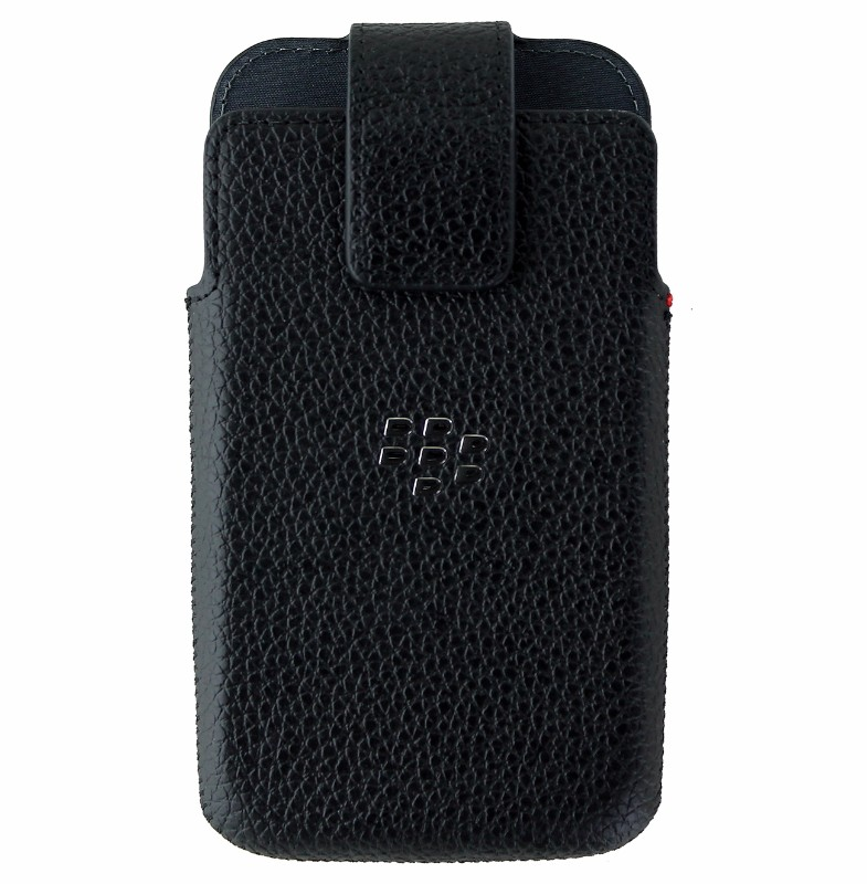 BlackBerry Leather Swivel Holster Case for Blackberry Classic Q20 - Black (Refurbished)