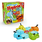 Hungry Hungry Hippos Game Includes Activity Sheet and Storage Cover, Ages 4 and Up