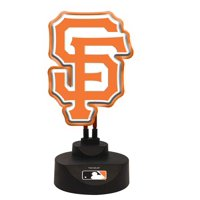 San Francisco Giants Team Logo Neon
