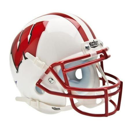 - Shutt Sports NCAA Mini Helmet, Wisconsin Badgers