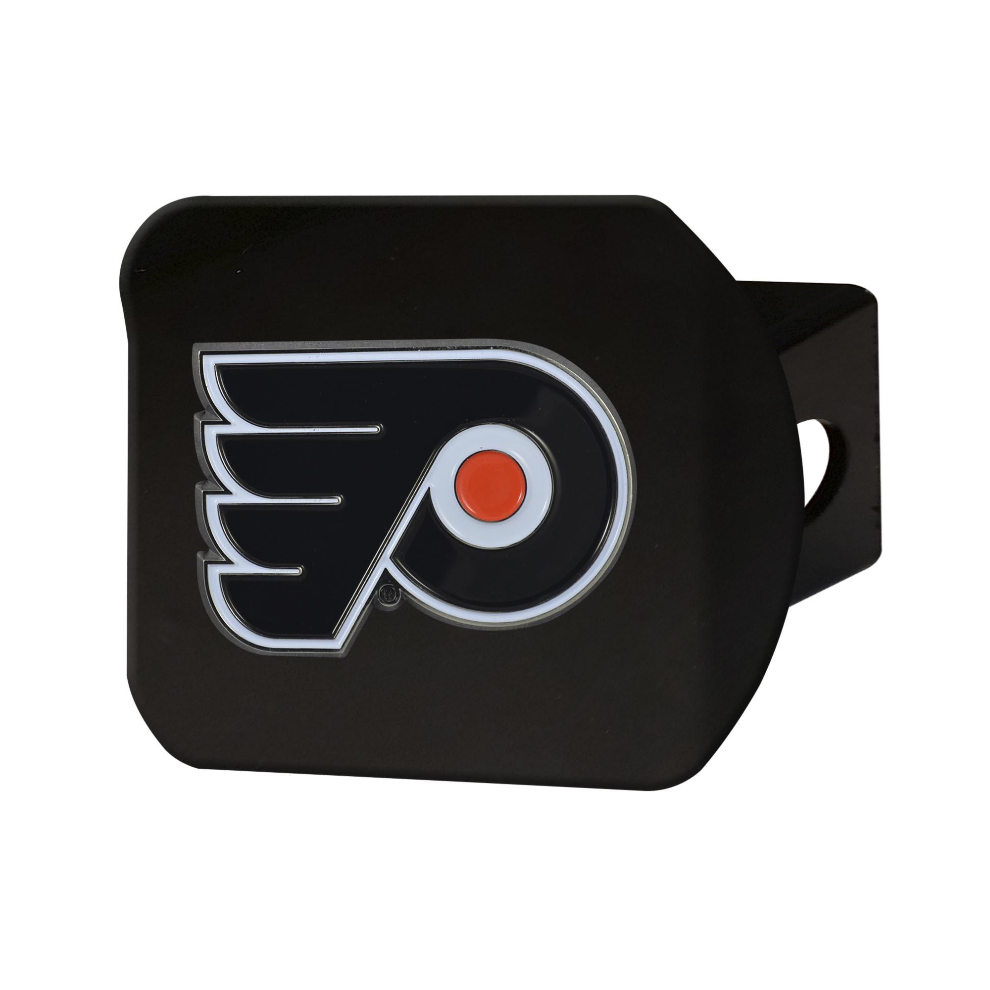 "Philadelphia Flyers Color Hitch Black 3.4""x4"""