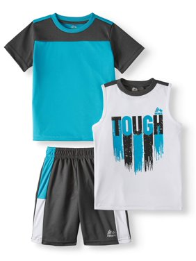 b31dda03a9ec Product Image RBX Tee, Graphic Muscle Tank and Short 3 Piece Set (Little  Boys & Big