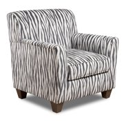 Chelsea Home Furniture Zaire Zebra Accent Chair