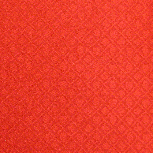 Trademark Poker Stalwart Table Cloth Suited Red, Waterproof, 3yds