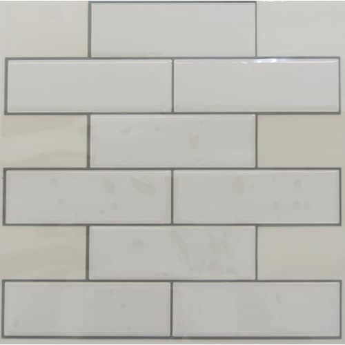 White Subway StickTILES™ - 4 Pack