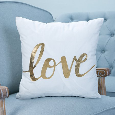 CLEARANCE! Throw Pillows Case, Justdolife Letter Love Cushion Cover Bed Sofa Square Throw Pillow Case Home Office Decor Decorative for Couch Bedding 18'*18'](Office Decorate)