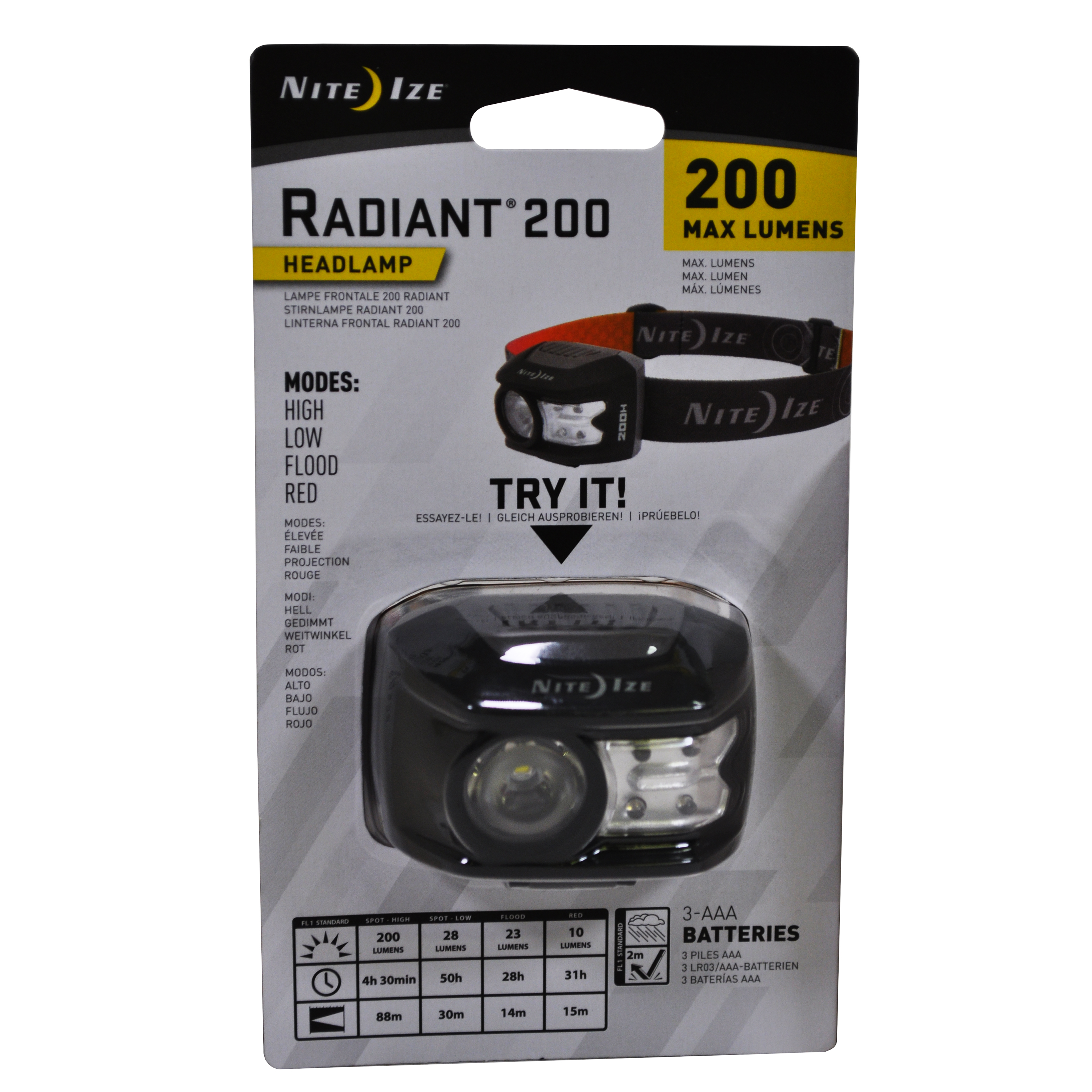 Nite Ize Headlamp Radiant 200