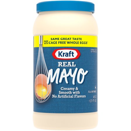 Kraft Mayo Mayonnaise Real  48 Fl Oz  Jar