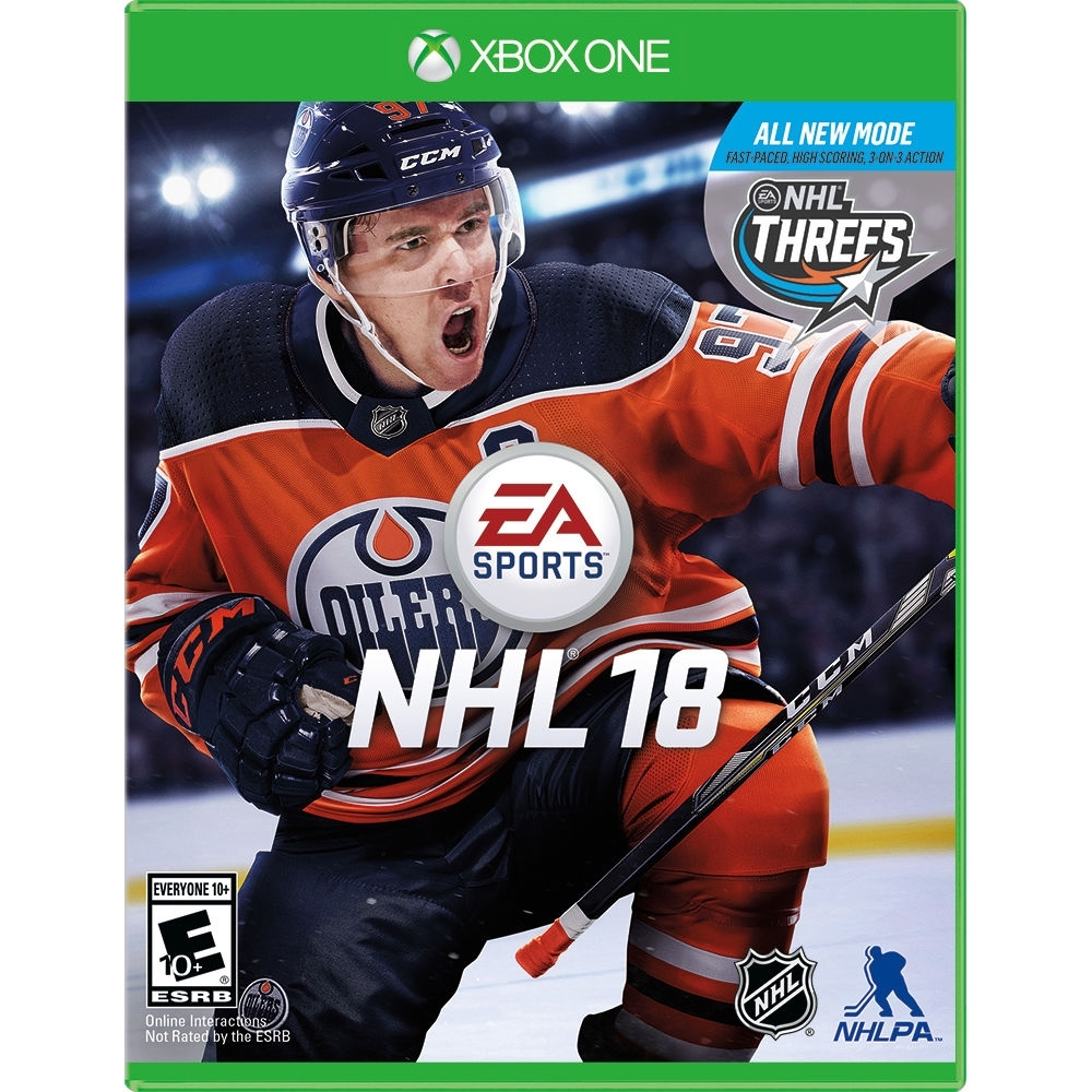 NHL 18 for Xbox One rated E - Everyone