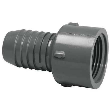 LASCO Female Adapter,Insert x FNPT,1/2 In,PVC 1435-005