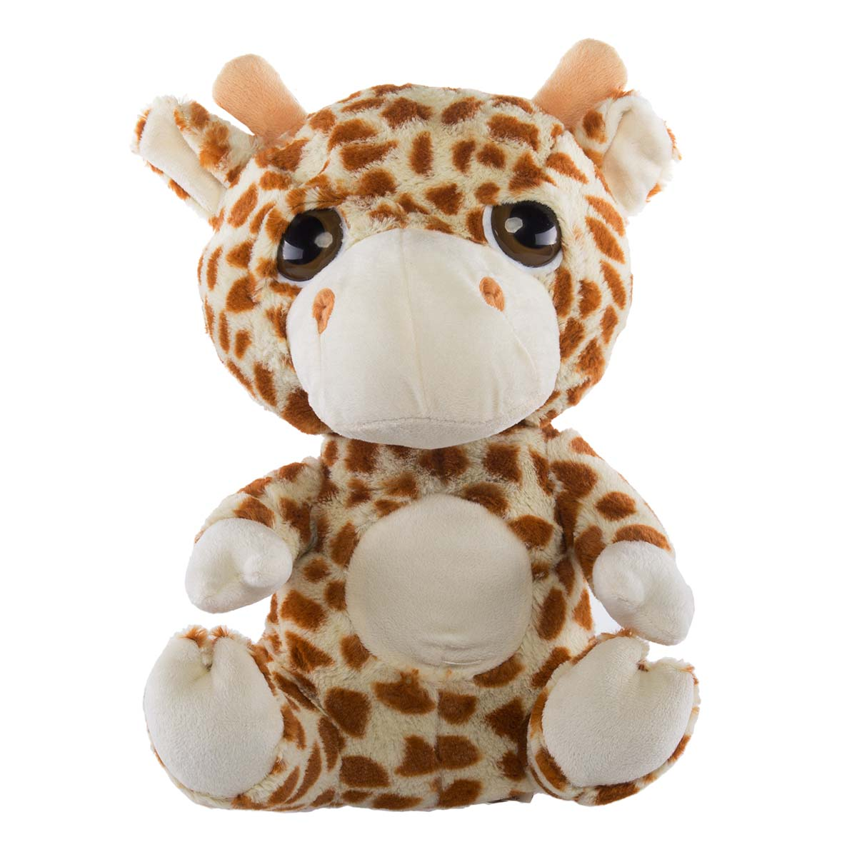 "Cuddly Soft Big Dreamy Eyes 14"" Big Head Animal Pals"
