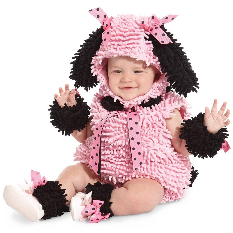 Pink Poodle Infant Halloween Costume, 6-12 Months