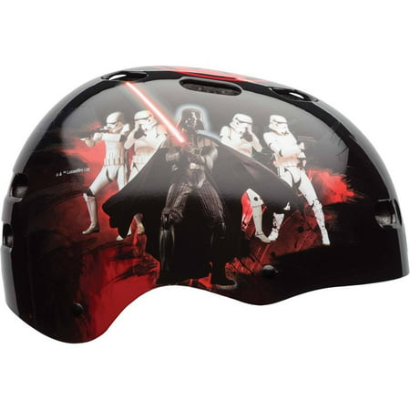 Bell Sports Star Wars Darth Vader Youth Multisport Helmet, Black