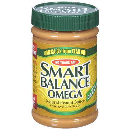 Smart Balance Omega Creamy Natural Peanut Butter, 16 oz
