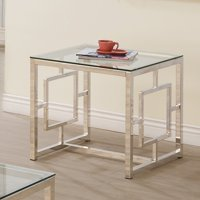 Coaster 703737 Home Furnishings End Table, Satin