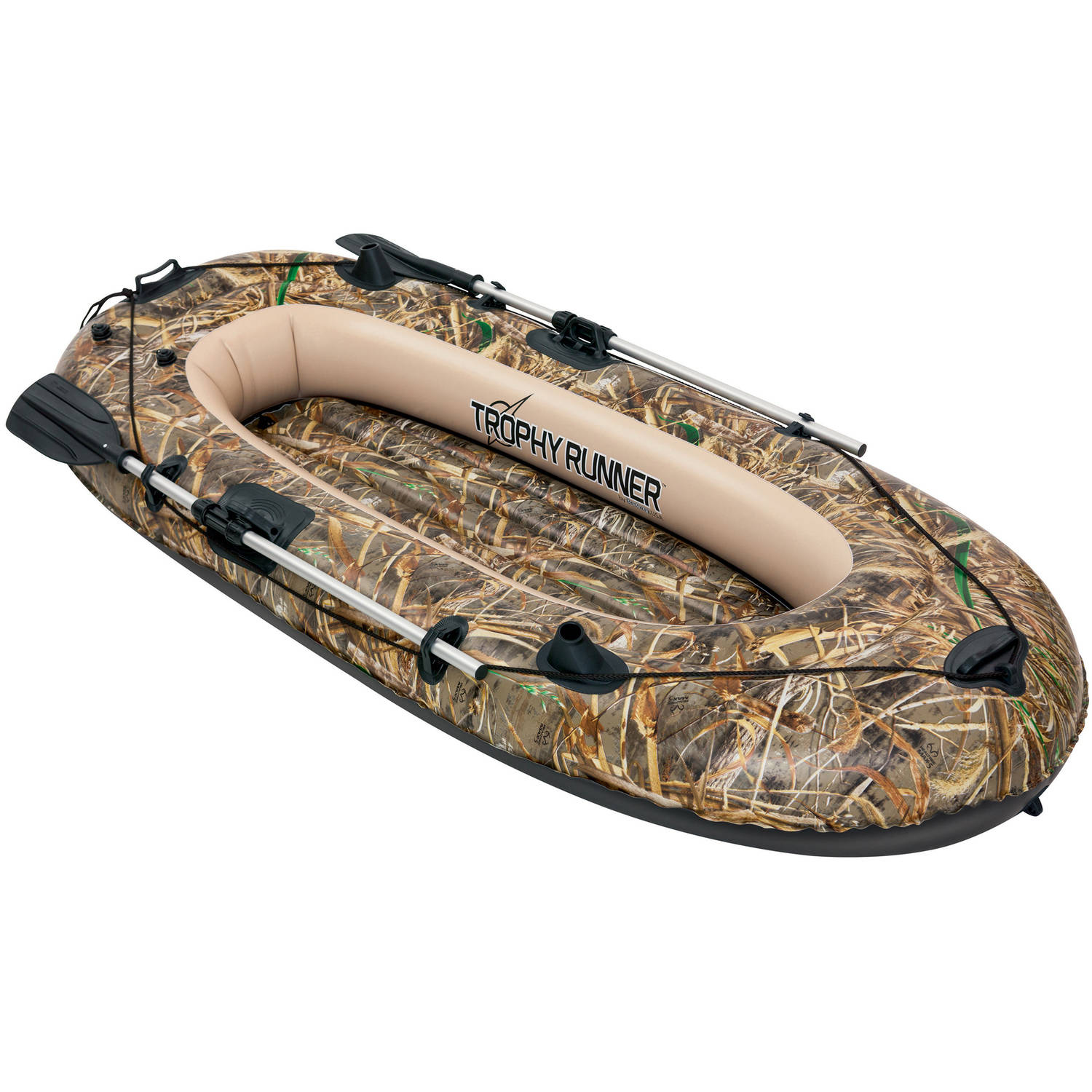 "Bestway Real Tree Trophy Runner Boat, 96"" x 40"""