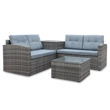 CLEARANCE! Outdoor Patio Furniture Sets, SEGMART 4 Pieces ...
