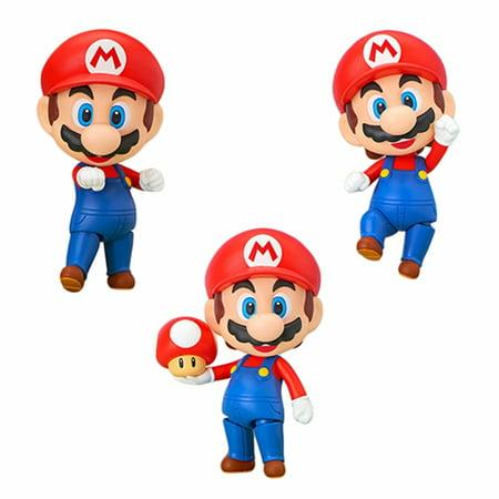 Toy - Nendoroid- Vinyl Figure - Super Mario - Mario Nendoroid Figure (Christmas Gift Idea)