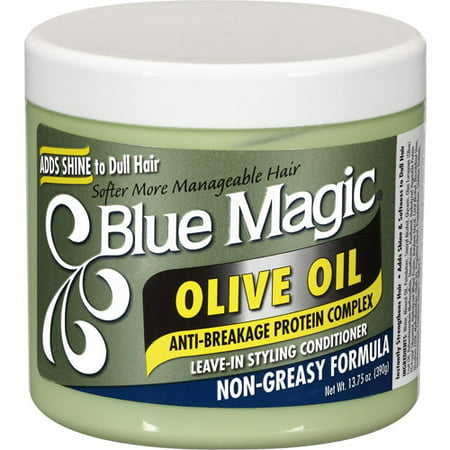 Blue Magic Olive Oil Leave-In Styling Hair