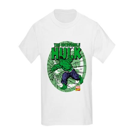 CafePress - The Incredible Hulk - Kids Light T-Shirt](Kids Hulk)