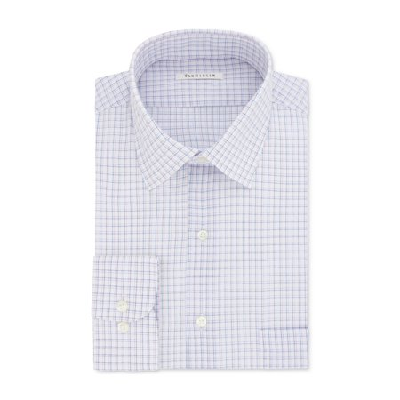 Van Heusen Mens Wrinkle Free Button Up Dress Shirt ()