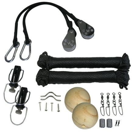 TACO Marine RK-0001PB Premium Outrigger Rigging (Single Rigging Kit)