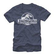 Jurassic World Men's Simple T. Rex Logo T-Shirt