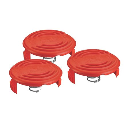 Black and Decker RC-100-P 3 Pack Spool Cap & Spring for AFS Trimmer # - Trimmer Starter Spring