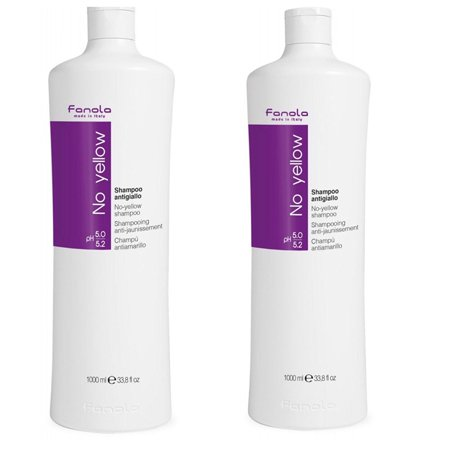 Fanola No Yellow Shampoo  2 Bottles    1000Ml Each